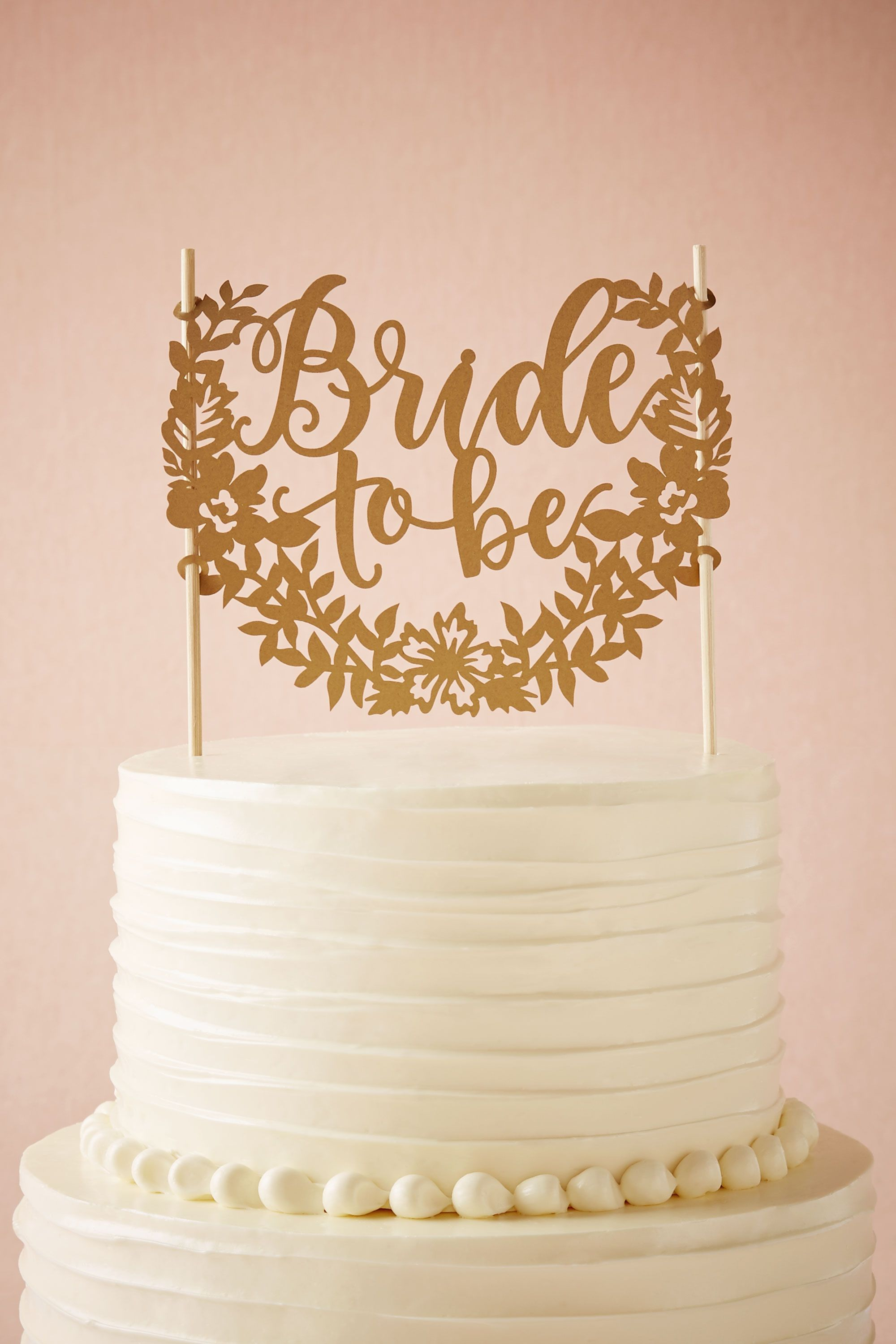 Bride To Be Cake Topper In Sale BHLDN