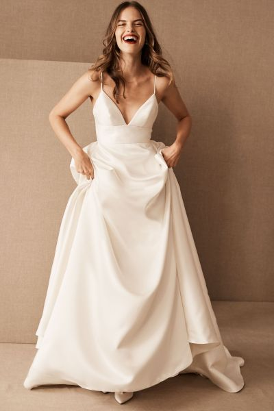 Wedding Dresses   Gowns   BHLDN Opaline Ballgown Opaline Ballgown