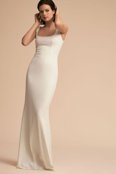 Lucy Dress Ivory in Bride   BHLDN Ivory Lucy Dress   BHLDN