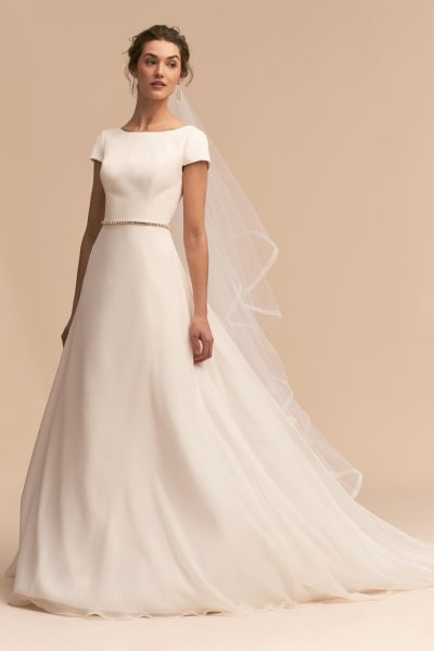 Shop Wedding Dresses on Sale   Wedding Dress Clearance   BHLDN Crest Gown