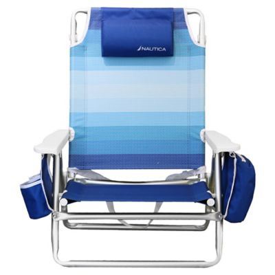 Nautica 5 Position Beach Chair Bed Bath Amp Beyond