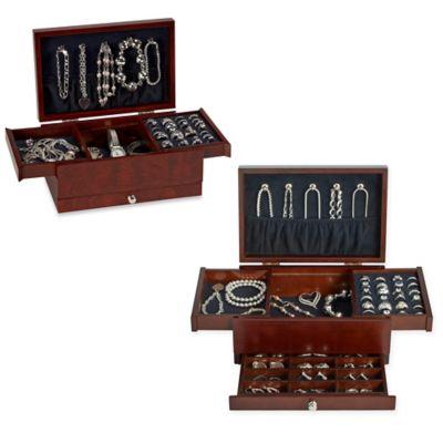 Lori Greiner Petite Safekeeper Jewelry Box Bed Bath