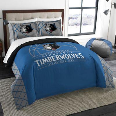 NBA Minnesota Timberwolves Comforter Set Bed Bath Amp Beyond