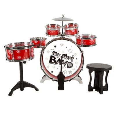 Hey  Play  7 Piece Toy Drum Set for Kids   buybuy BABY 7 Piece Toy Drum Set for Kids