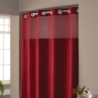 Hookless Waffle Fabric Shower Curtain Bed Bath Amp Beyond
