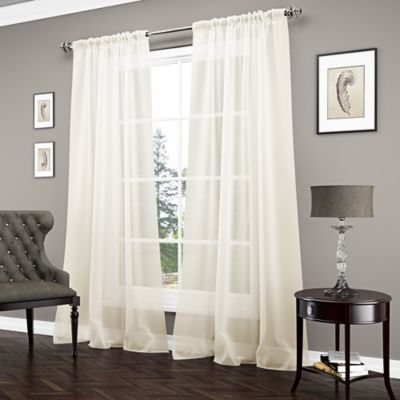 Home Decor Clearance   Savings   Bed Bath   Beyond Vue       Carrington Sheer Window Curtain Panel