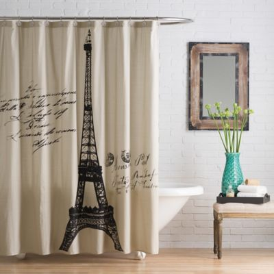 Anthology Paris Cotton Shower Curtain Bed Bath Amp Beyond