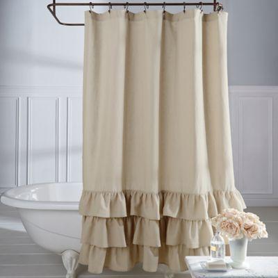 Veratex Vintage Ruffle Shower Curtain Bed Bath Amp Beyond