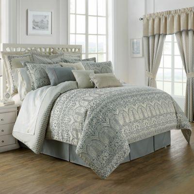 Waterford 174 Linens Allure Reversible Comforter Set Bed