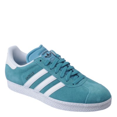 Adidas Gazelle II mens emerald athletic lifestyle sneaker