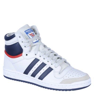 White Hi Athletic Shoe Top