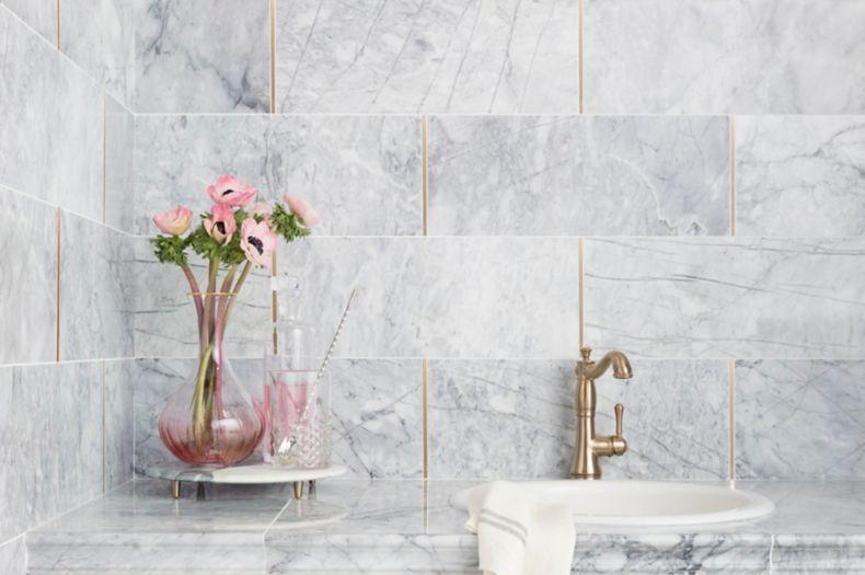 decorative tile trim accents and