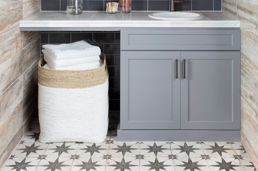 laundry room tile designs trends