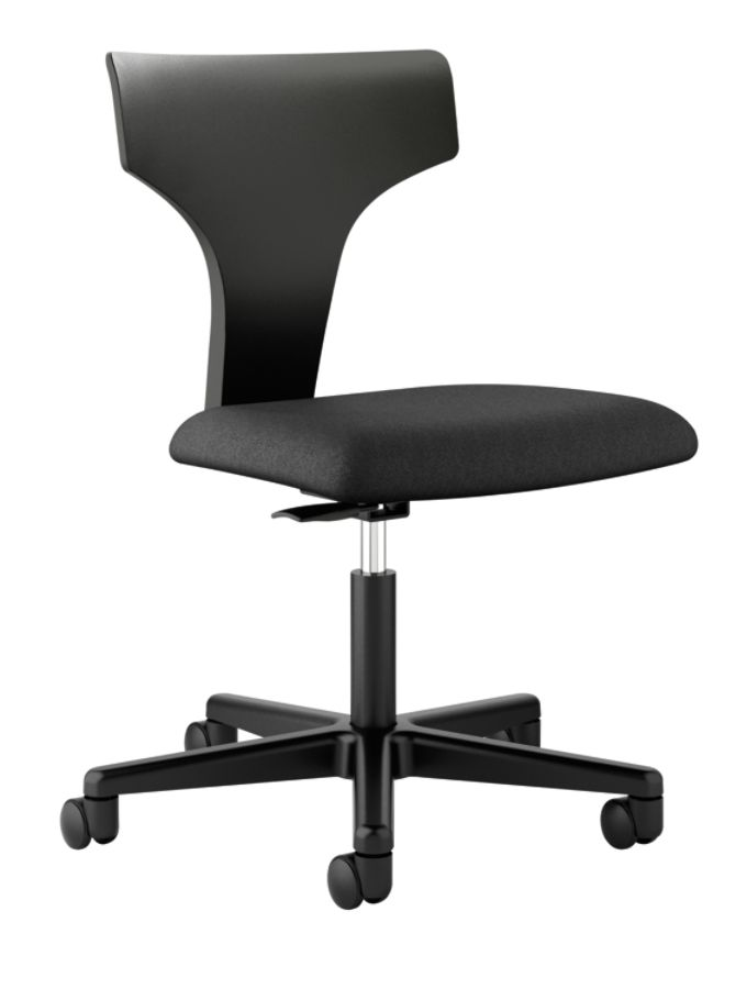 chairs rollers white office desk chair basyx by hon vl251 t shaped mid back task chair black item 255494 bathroomcomely office max furniture desk