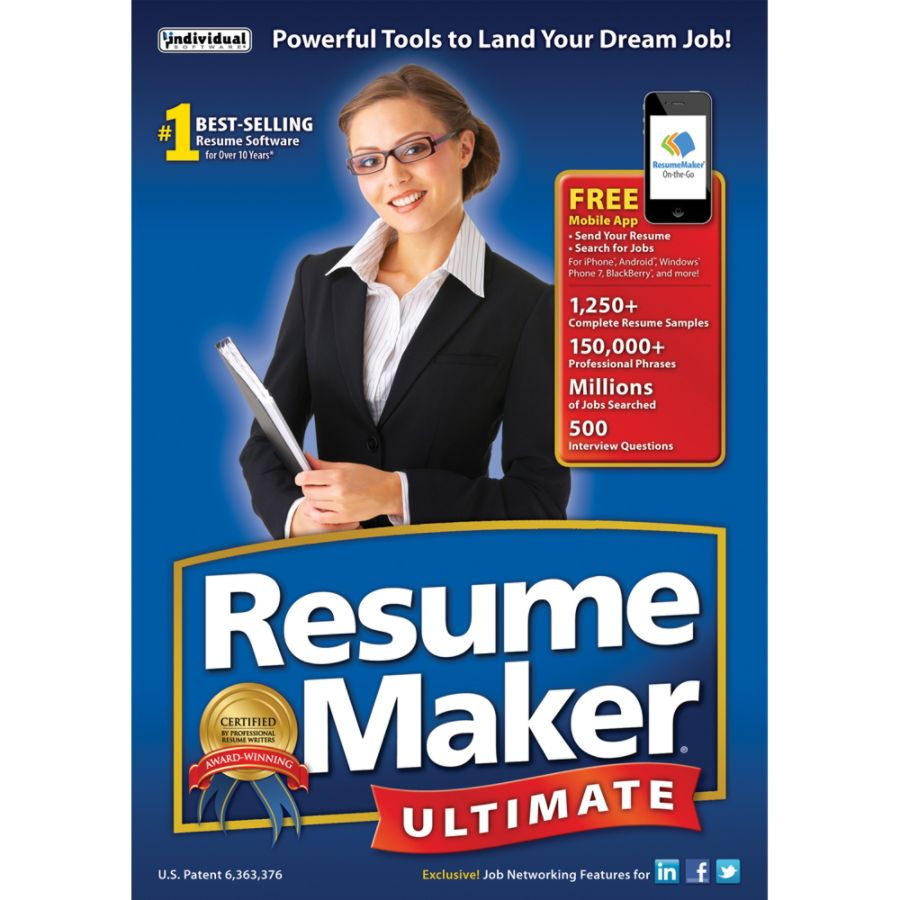resumemaker ultimate 6 download version by officemax