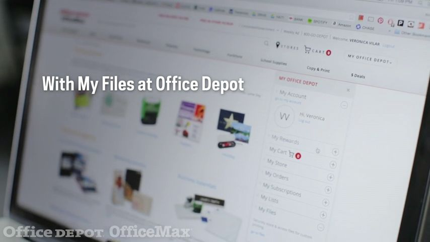 office depot stores offer on site printing services mailing
