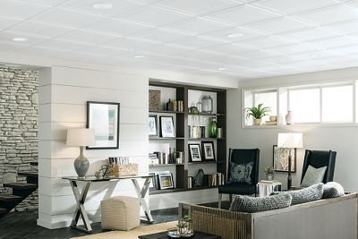 The combination of Grid Size and Edge Profile will affect the visual appearance and ease of installation of your suspended ceiling. Decorative Suspended Ceilings 1205 Ceilings Armstrong Residential