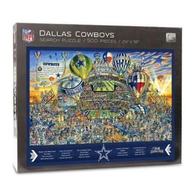 NFL Dallas Cowboys 500 Piece Find Joe Journeyman Puzzle