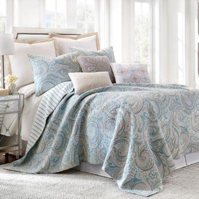 Levtex Home Amelie Reversible Quilt Set In Blue Bed Bath