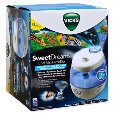 Vicks Sweet Dreams Cool Mist Humidifier Bed Bath Amp Beyond