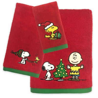 Peanuts Holiday Towel Collection Bed Bath Amp Beyond
