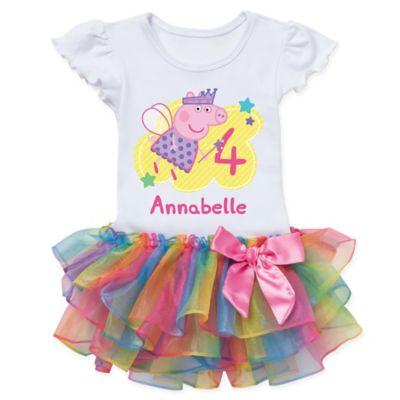 Peppa Pig Birthday Fairy Rainbow Tutu T Shirt Bed Bath Beyond