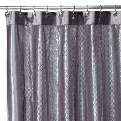 infinity fabric shower curtain