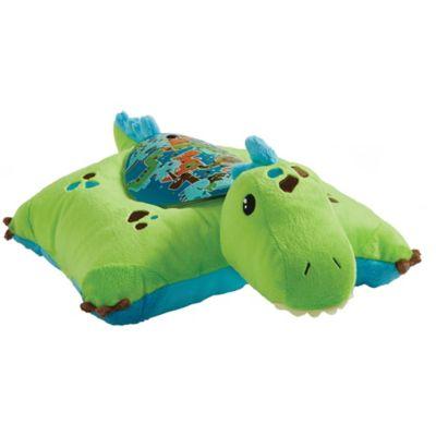 pillow pets green dinosaur sleeptime lite night light pillow pet