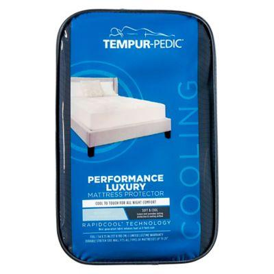 tempur pedic performance luxury cooling waterproof mattress protector