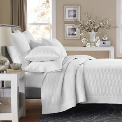 real simple dune pillow sham in white