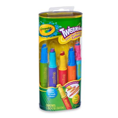 Crayola Play Visions Twistables 5 Pack Color Swirl Crayons Bed Bath Amp Beyond
