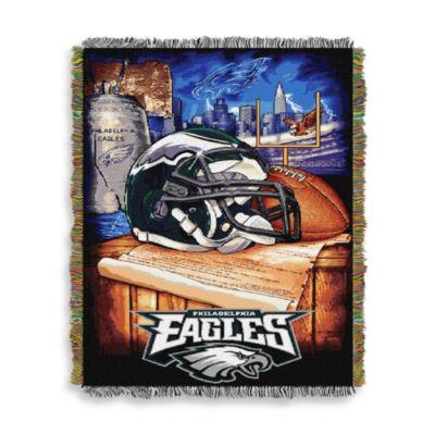 NFL Philadelphia Eagles Tapestry Throw Bed Bath Amp Beyond
