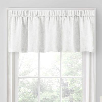 quinn blackout tailored window valance