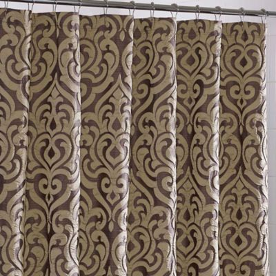 j queen new york luxembourg fabric shower curtain