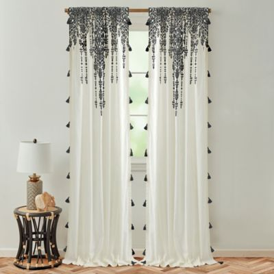 global caravan marrakech rod pocket light filtering window curtain panel