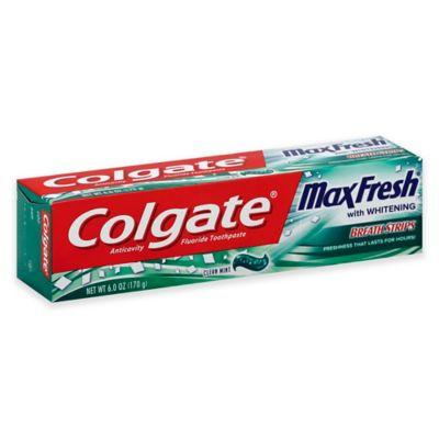 Colgate 6 Oz Max Fresh Toothpaste With Mini Breath