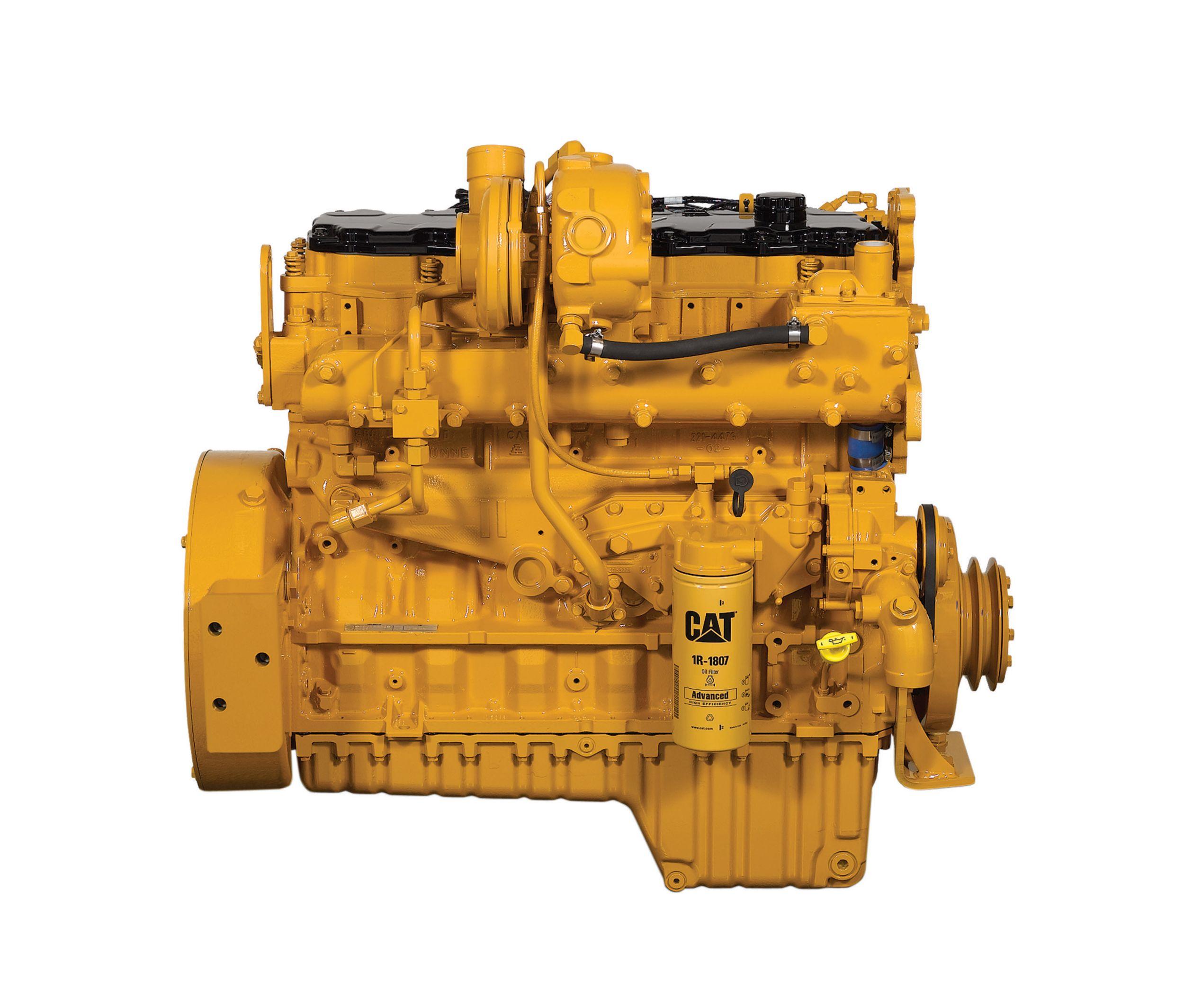Cat   C7 ACERT™ Dry Manifold Engine   Caterpillar