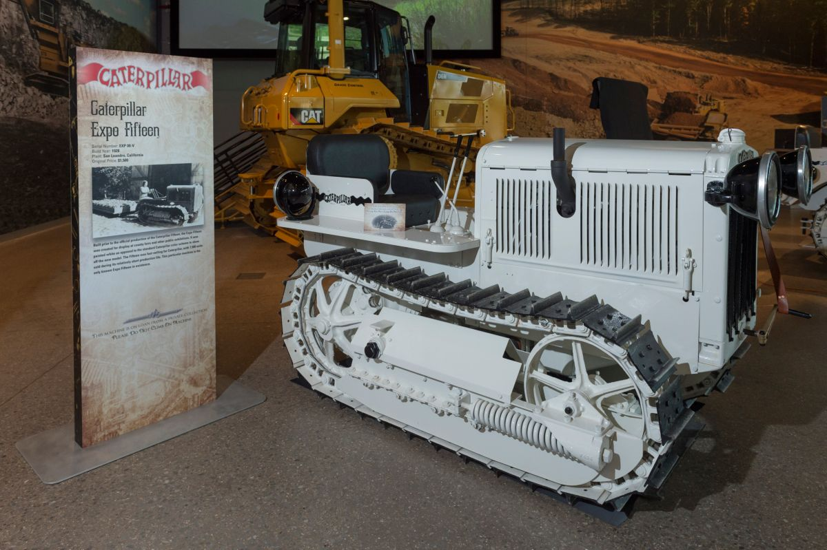 Caterpillar Invented Who Tracks