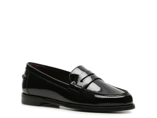 Ralph Lauren Collection Irina Patent Leather Penny Loafer DSW