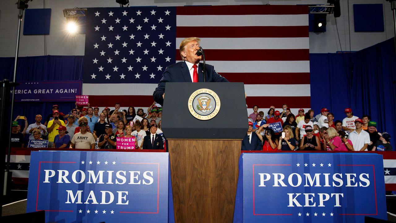 Trump Hits De Blasio On Twitter Over Promises Slogan