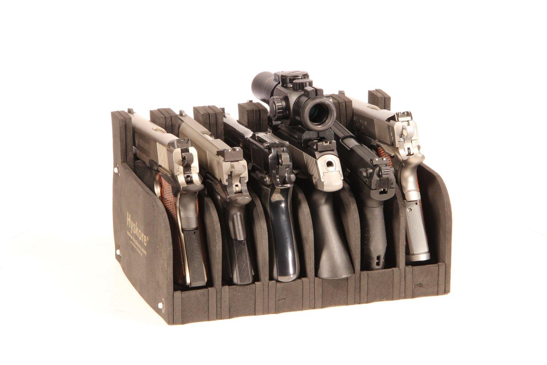 hyskore 6 gun modular pistol rack