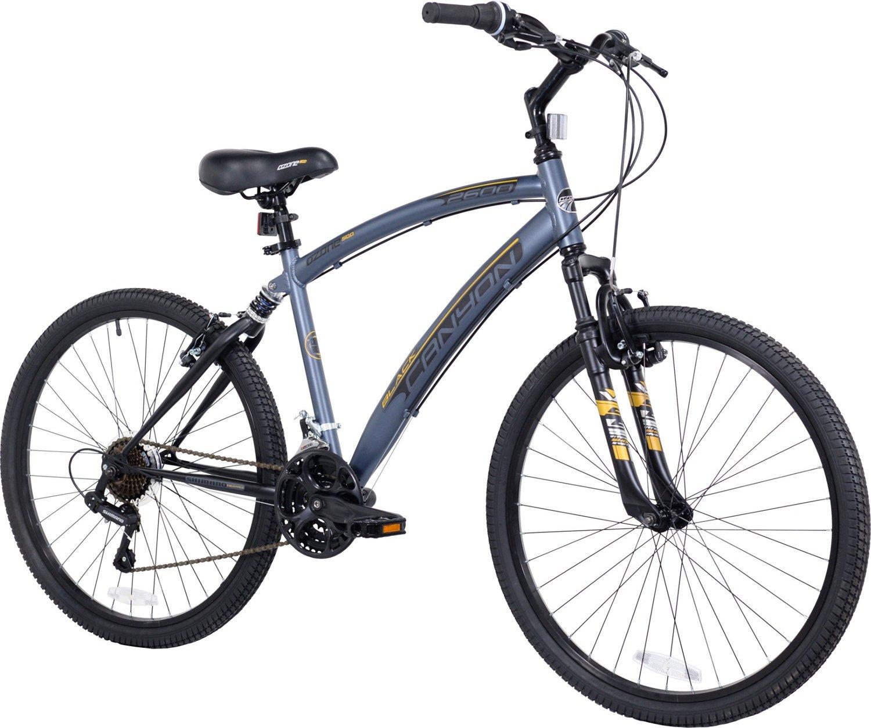 ozone 500 men s black canyon 26 in 21 speed bike