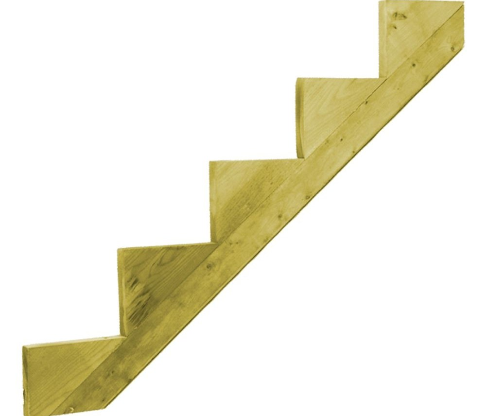 Outdoor Stair Stringers Risers The Home Depot Canada   Patio Steps Home Depot