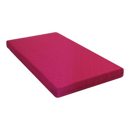 6 Inch Twin Quilted Top Bunk Bed Mattress Pink