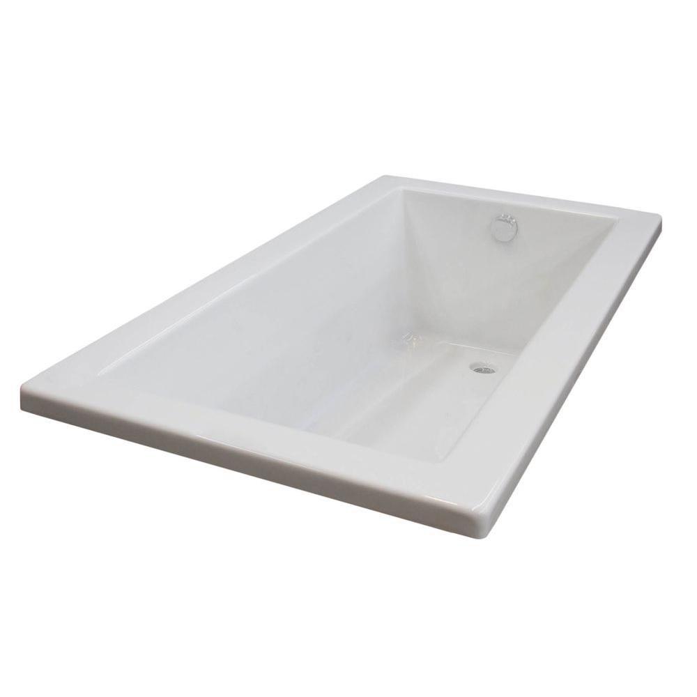 sapphire 36 x 72 baignoire de trempage rectangulaire