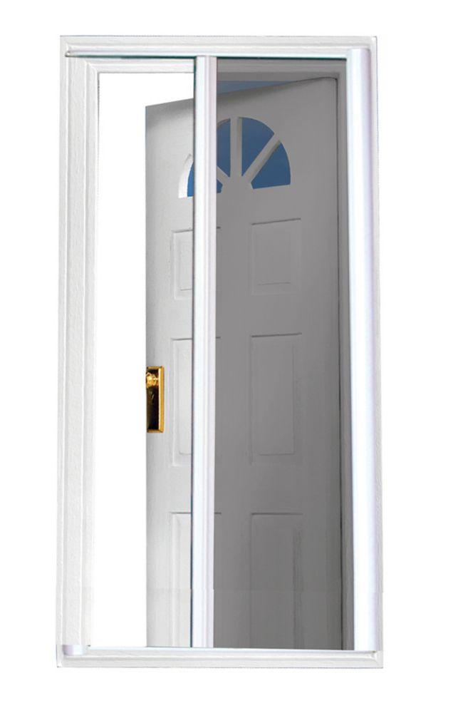 Seasonguard 81 5 Inch White Retractable Screen Door Standard