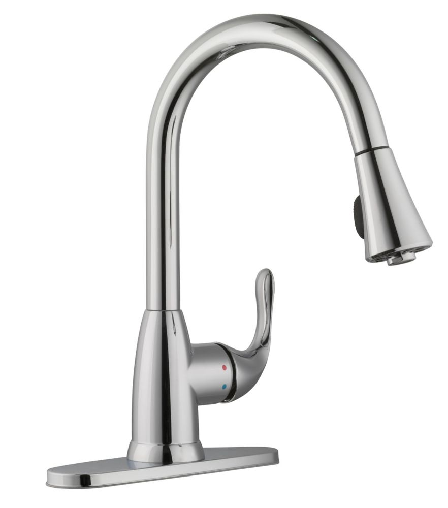 romix single handle kitchen faucet with