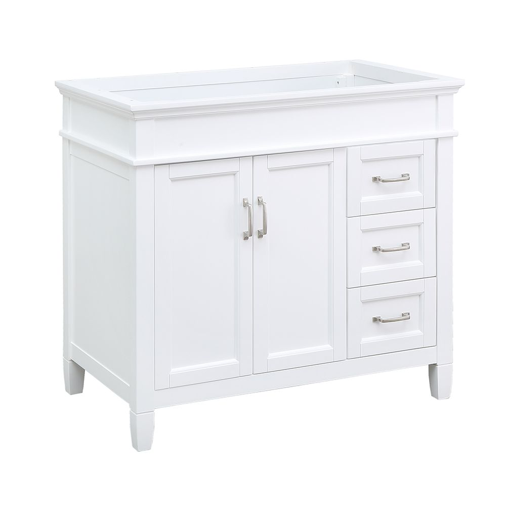 Foremost Vanit Ashburn Blanc 36po Home Depot Canada