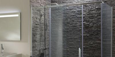sa paroi ou porte de douche