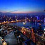 Rooftop Bar Shanghai Rooftop Restaurant Shanghai The Ritz Carlton Shanghai Pudong